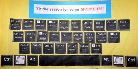 use these keyboard strokes to save time