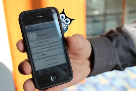 how to use a qr code to add contact info to your phone