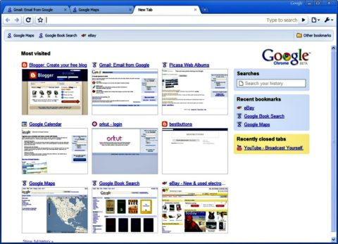 google chrome browser better than internet explorer browser