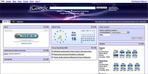 iGoogle personalized homepage. photo by Matrixizationized on Flickr