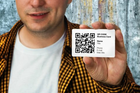 QR code business cards are much better than old-fashioned ones