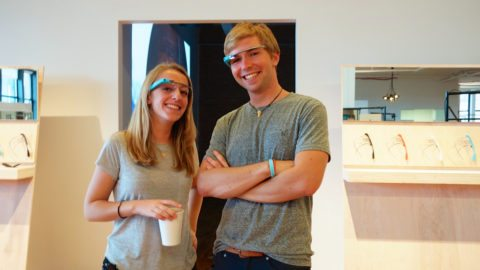 google glasses - wearable technology isn't always well received