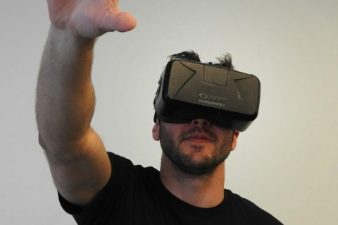 Virtual reality headsets are a part of the wearable technology movement.